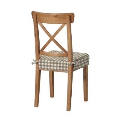 Siedzisko na krzesło Ingolf w kolekcji Quadro, tkanina: 136-06