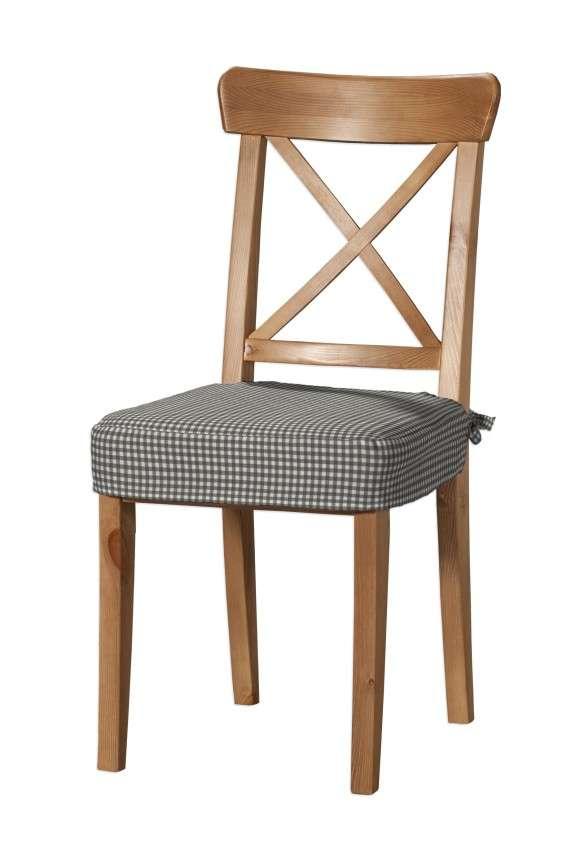 Sitzkissen geeignet für das Ikea Modell Ingolf  Modell Inglof von der Kollektion Quadro, Stoff: 136-10