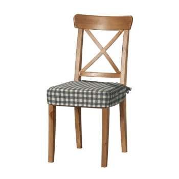 Siedzisko na krzesło Ingolf w kolekcji Quadro, tkanina: 136-11