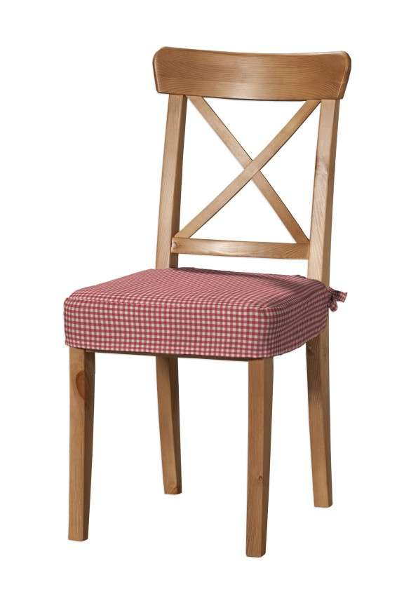 Siedzisko na krzesło Ingolf w kolekcji Quadro, tkanina: 136-15