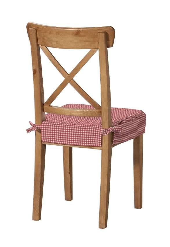 Sitzkissen geeignet für das Ikea Modell Ingolf  Modell Inglof von der Kollektion Quadro, Stoff: 136-15