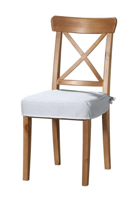 Sitzkissen geeignet für das Ikea Modell Ingolf  Modell Inglof von der Kollektion Cotton Panama, Stoff: 702-34