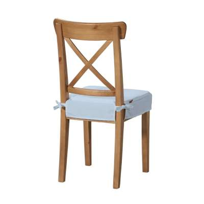 Siedzisko na krzesło Ingolf 133-35 pastelowy niebieski Kolekcja Loneta