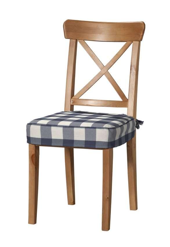 Sedák na stoličku Ingolf V kolekcii Quadro, tkanina: 136-03