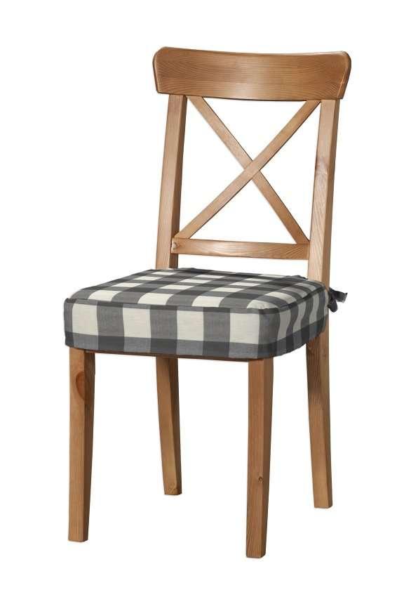 Siedzisko na krzesło Ingolf krzesło Inglof w kolekcji Quadro, tkanina: 136-13