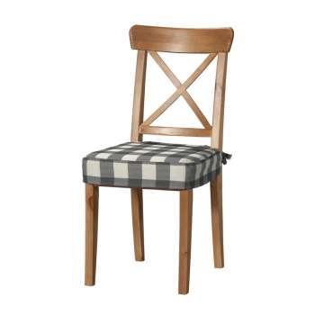 Sitzkissen geeignet für das Ikea Modell Ingolf  Modell Inglof von der Kollektion Quadro, Stoff: 136-13