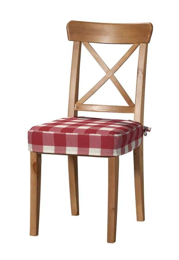 Sedák na stoličku Ingolf V kolekcii Quadro, tkanina: 136-18