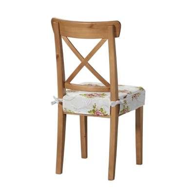 Ingolf kėdės užvalkalas 311-15 Rožės šviesiame fone Kolekcija NUOLAIDOS