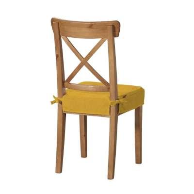 Siedzisko na krzesło Ingolf 705-04 musztardowy szenil Kolekcja Etna