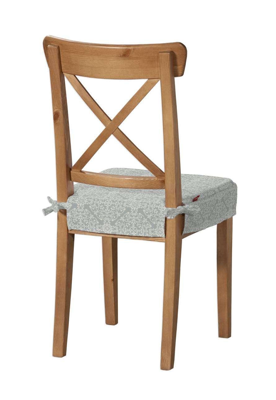 Siedzisko na krzesło Ingolf krzesło Inglof w kolekcji Flowers, tkanina: 140-38
