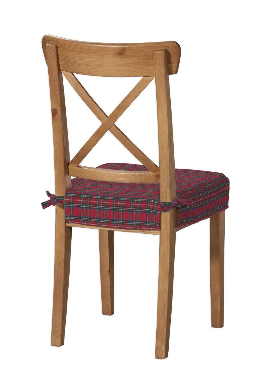 Sedák na židli IKEA Ingolf v kolekci Bristol, látka: 126-29