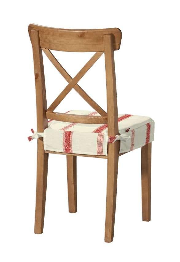 Sedák na stoličku Ingolf návlek na stoličku Inglof V kolekcii Avinon, tkanina: 129-15