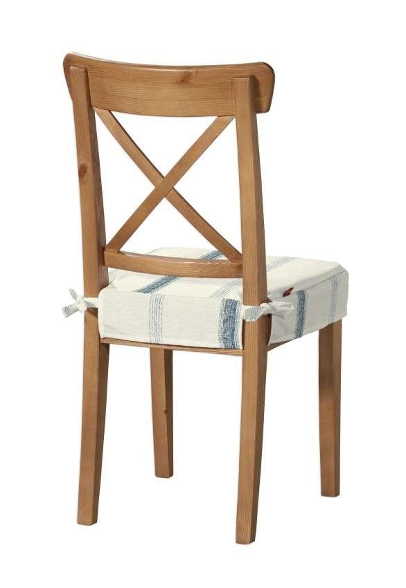 Sitzkissen geeignet für das Ikea Modell Ingolf  Modell Inglof von der Kollektion Avinon, Stoff: 129-66