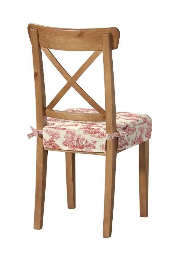Siedzisko na krzesło Ingolf w kolekcji Avinon, tkanina: 132-15