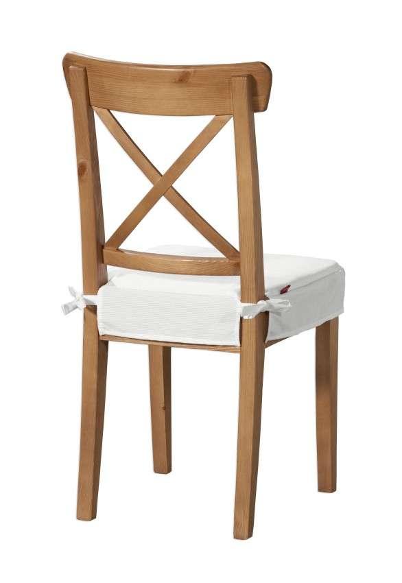 Sedák na stoličku Ingolf V kolekcii Jupiter, tkanina: 127-01