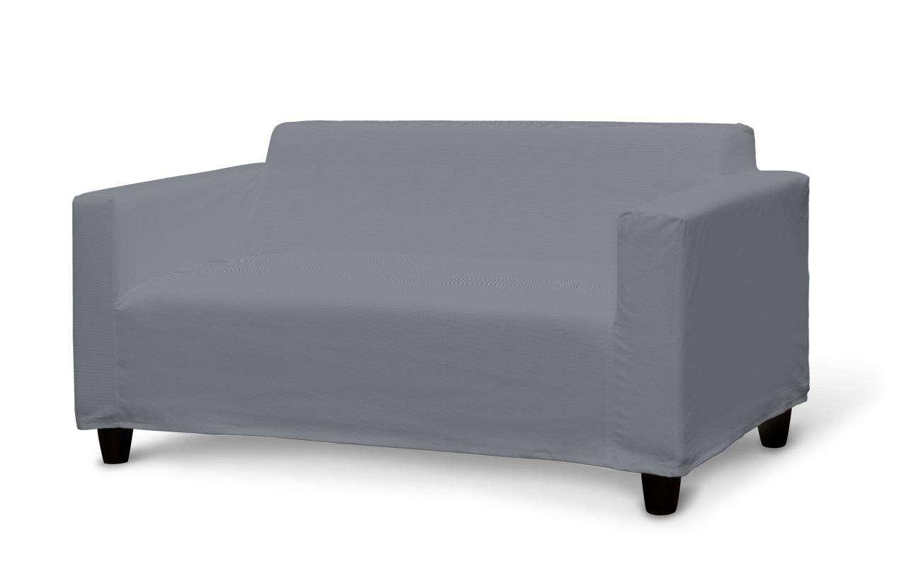 Klobo Sofabezug, Slade grey, Klobo, Cotton Panama