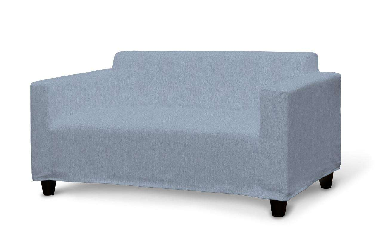 Klobo Sofabezug, silber- blau, Klobo, Chenille
