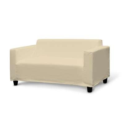 IKEA KLOBO sofos užvalkalas 702-22 smėlio/kreminės spalvos šenilinis audinys Kolekcija Chenille