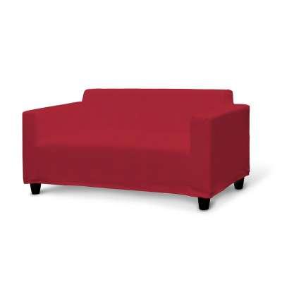 IKEA KLOBO sofos užvalkalas 702-24 raudonas šenilinis audinys Kolekcija Chenille