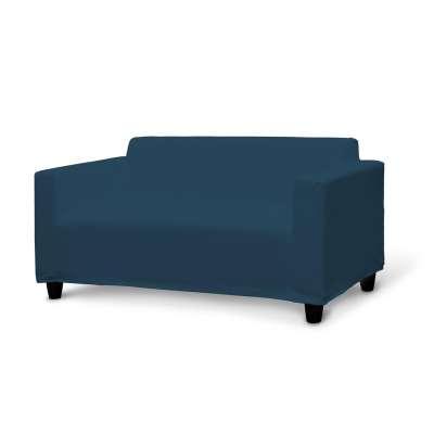 IKEA KLOBO sofos užvalkalas 702-30 tamsiai mėlyna Kolekcija Cotton Panama