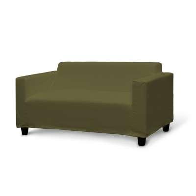 Poťah na sedačku Klobo 161-26 olivovo zelená Kolekcia Etna