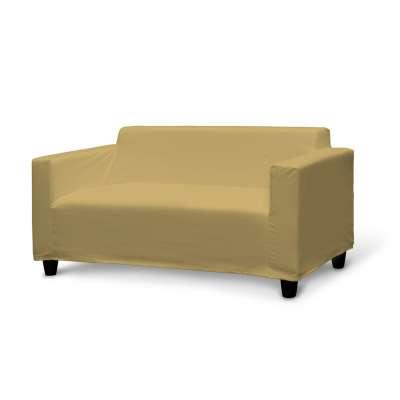 IKEA KLOBO sofos užvalkalas 702-41 prigesinta geltona Kolekcija Cotton Panama