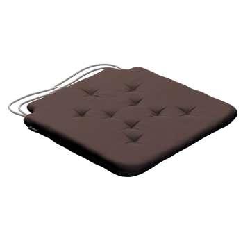 Siedzisko Olek na krzesło 42x41x3,5cm w kolekcji Cotton Panama, tkanina: 702-03