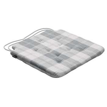 Siedzisko Olek na krzesło 42x41x3,5cm w kolekcji Edinburgh, tkanina: 115-79