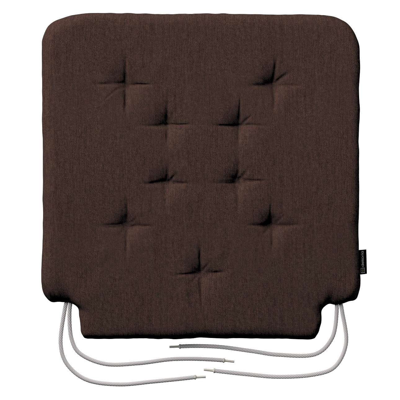 Siedzisko Olek na krzesło 42x41x3,5cm w kolekcji Chenille, tkanina: 702-18