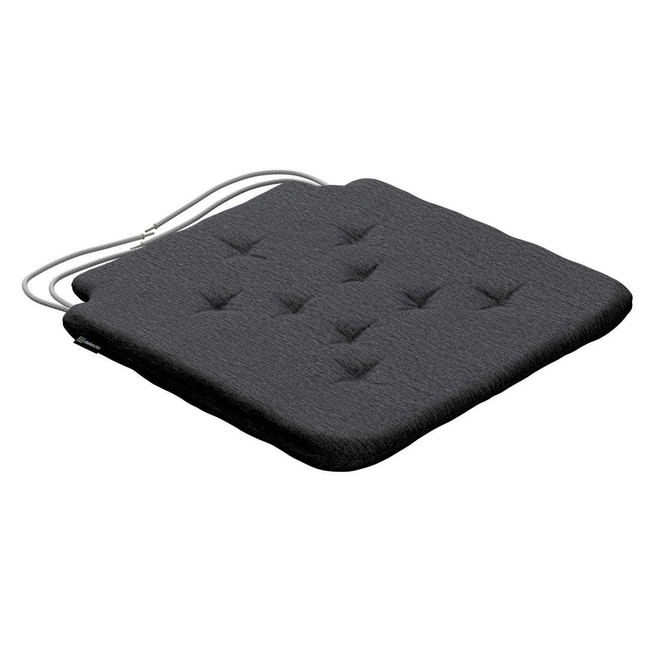 Siedzisko Olek na krzesło 42x41x3,5cm w kolekcji Chenille, tkanina: 702-20