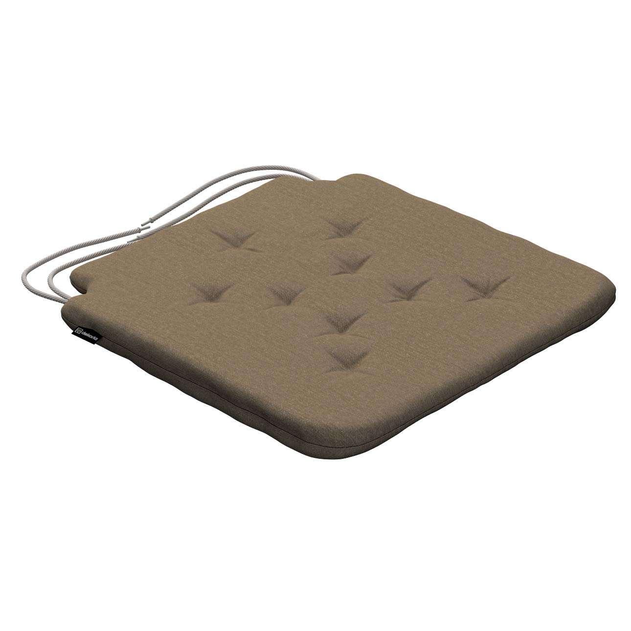 Siedzisko Olek na krzesło 42x41x3,5cm w kolekcji Chenille, tkanina: 702-21