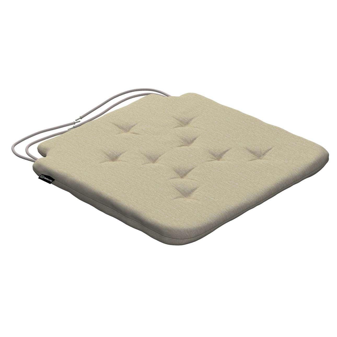 Siedzisko Olek na krzesło 42x41x3,5cm w kolekcji Chenille, tkanina: 702-22
