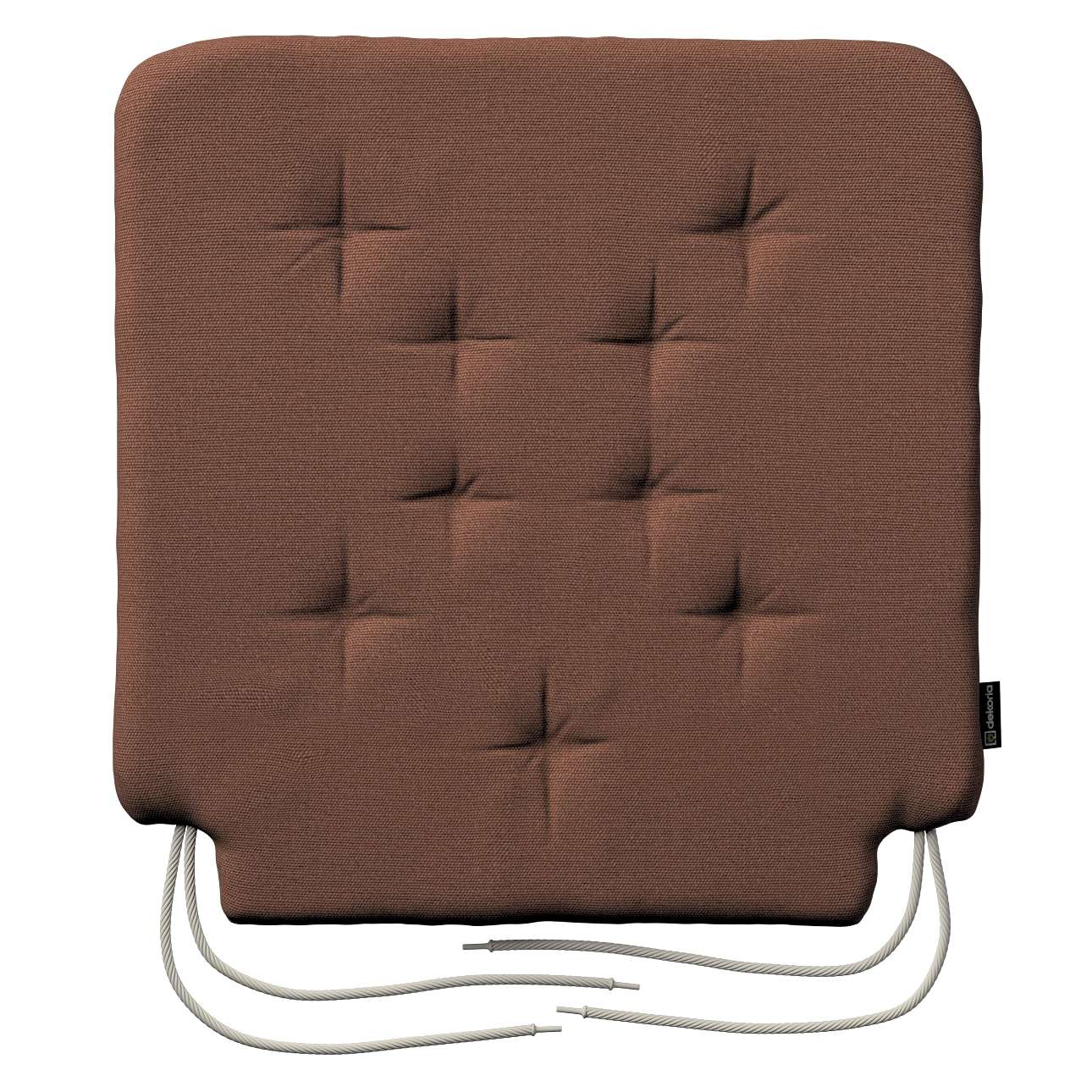 Siedzisko Olek na krzesło 42x41x3,5cm w kolekcji Loneta, tkanina: 133-09