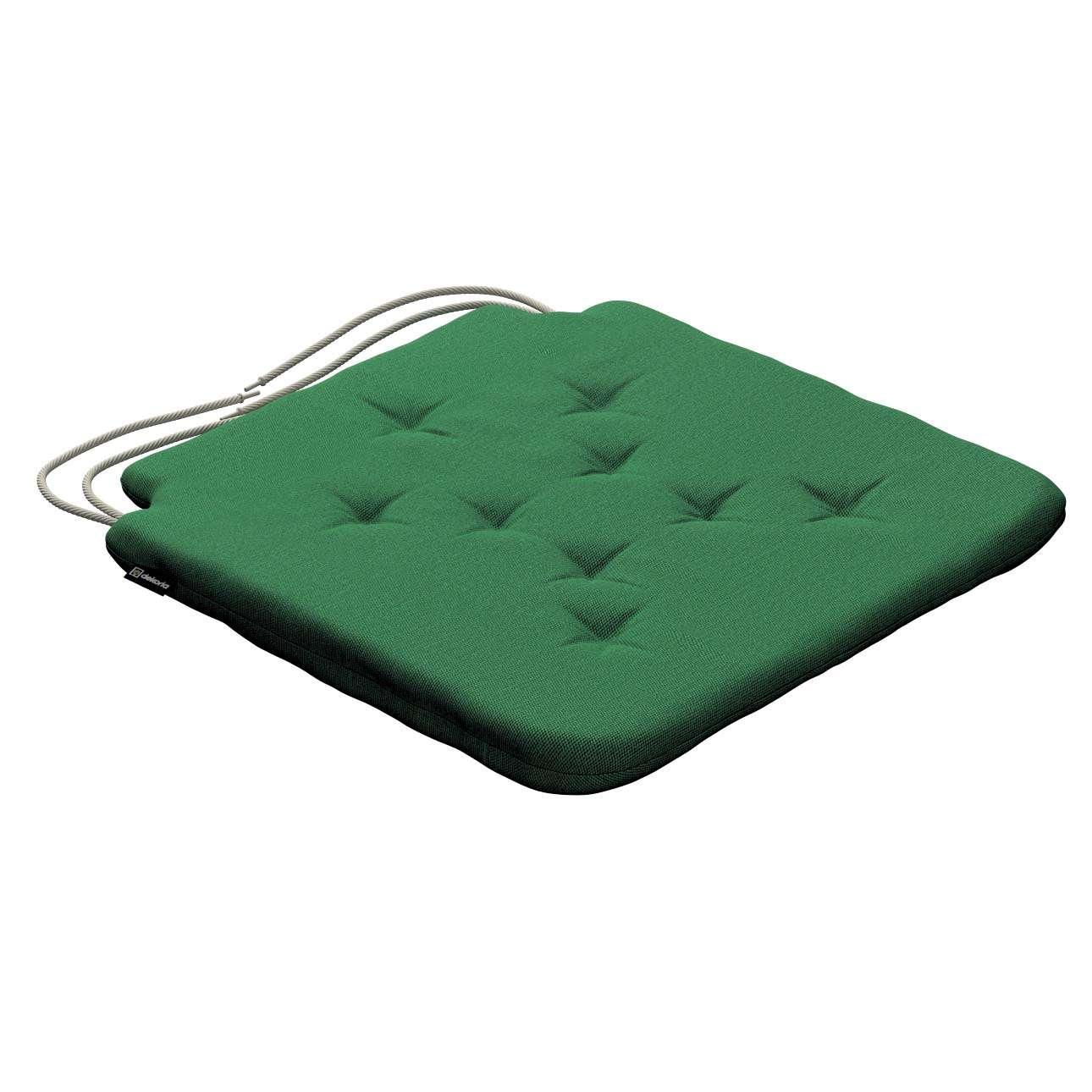 Siedzisko Olek na krzesło 42x41x3,5cm w kolekcji Loneta, tkanina: 133-18