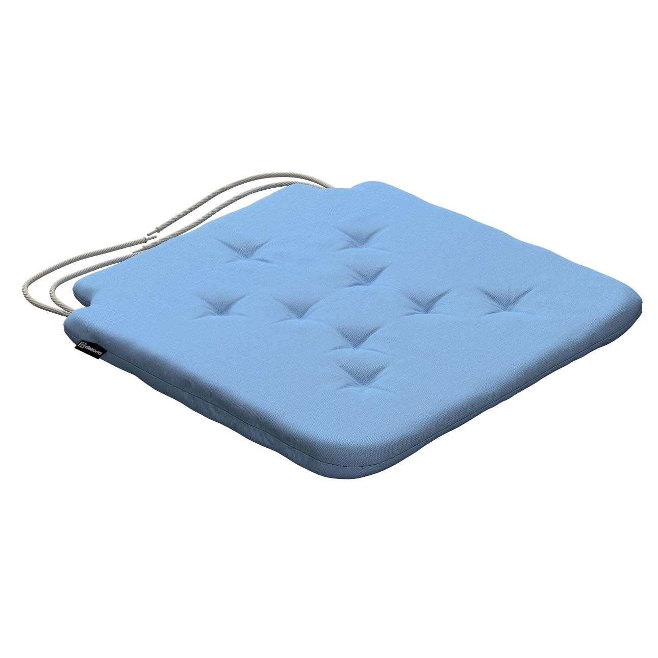 Siedzisko Olek na krzesło 42x41x3,5cm w kolekcji Loneta, tkanina: 133-21