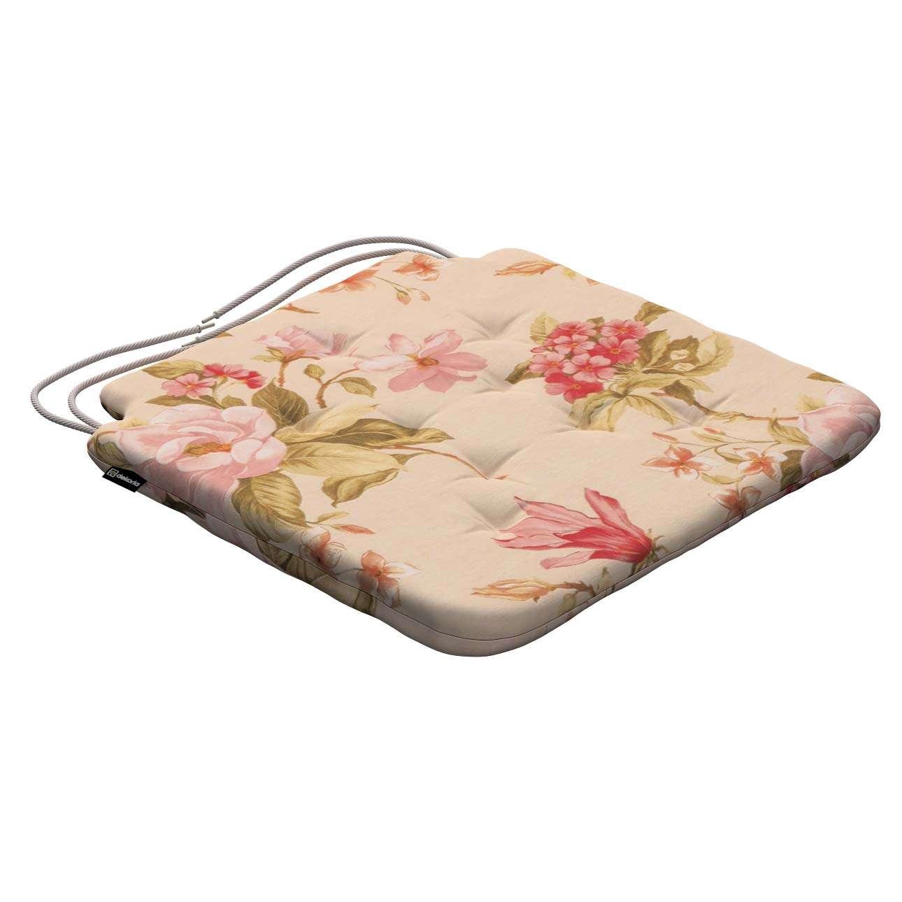 Siedzisko Olek na krzesło w kolekcji Londres, tkanina: 123-05