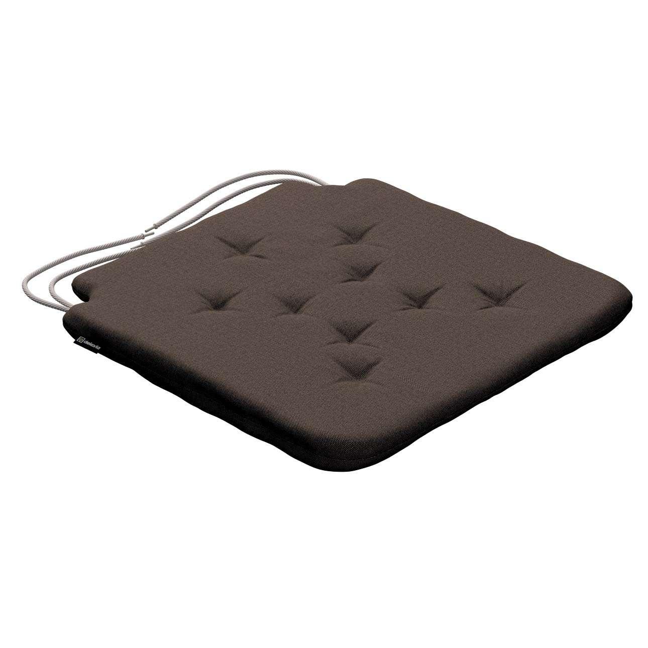 Siedzisko Olek na krzesło 42x41x3,5cm w kolekcji Etna , tkanina: 705-08
