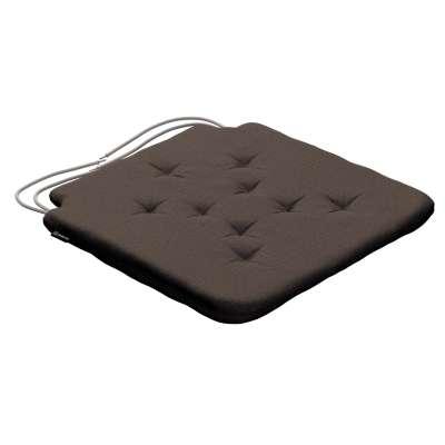 Siedzisko Olek na krzesło 705-08 brązowy Kolekcja Etna