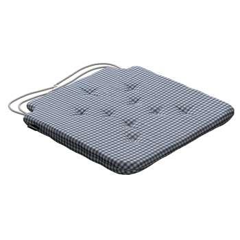 Siedzisko Olek na krzesło 42x41x3,5cm w kolekcji Quadro, tkanina: 136-00