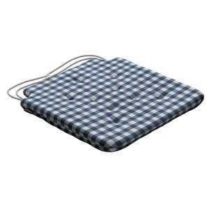 Siedzisko Olek na krzesło 42x41x3,5cm w kolekcji Quadro, tkanina: 136-01