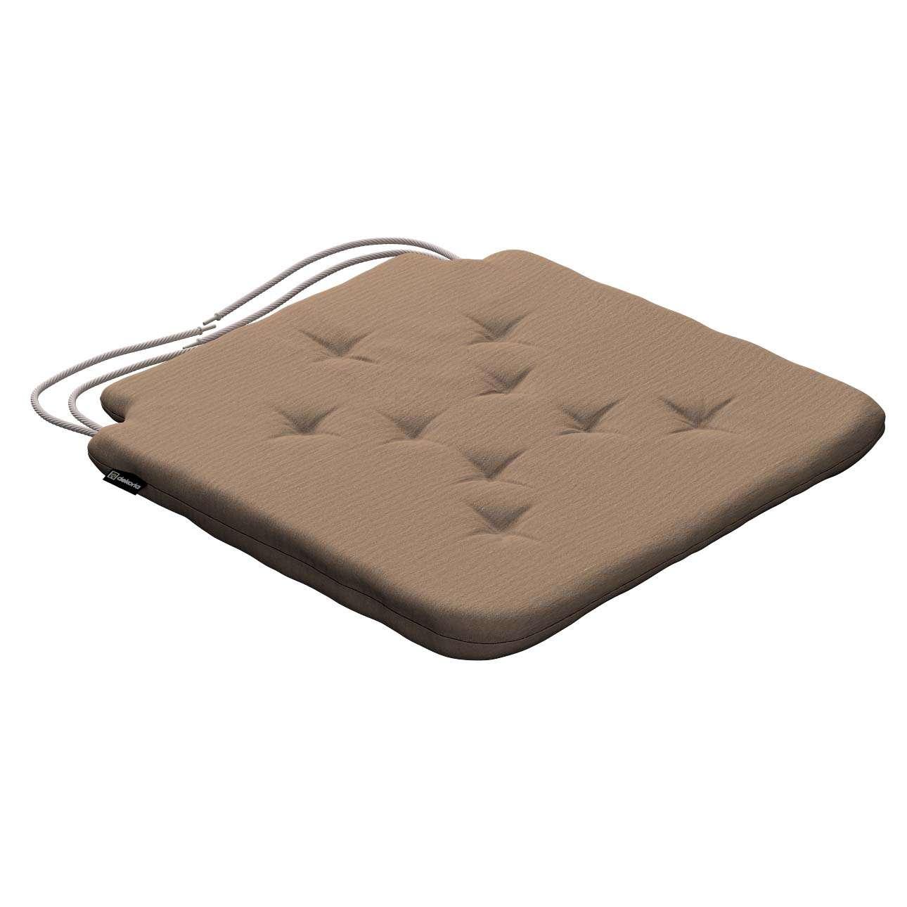 Siedzisko Olek na krzesło 42x41x3,5cm w kolekcji Quadro, tkanina: 136-09