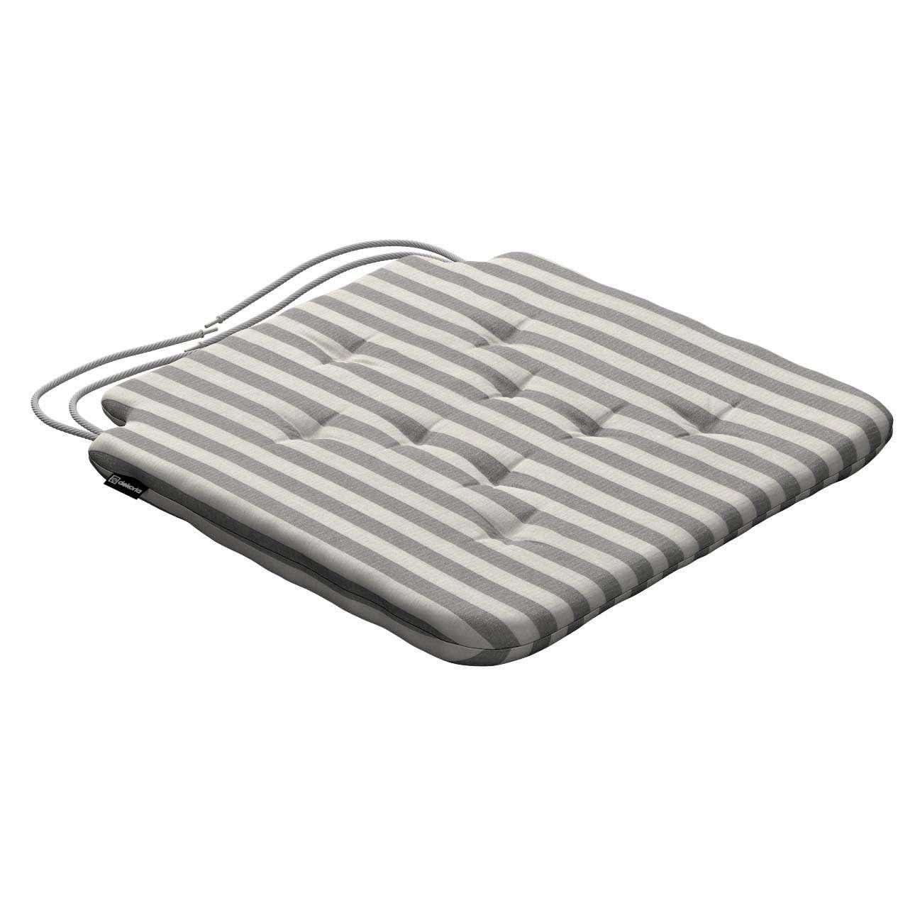 Siedzisko Olek na krzesło 42x41x3,5cm w kolekcji Quadro, tkanina: 136-12