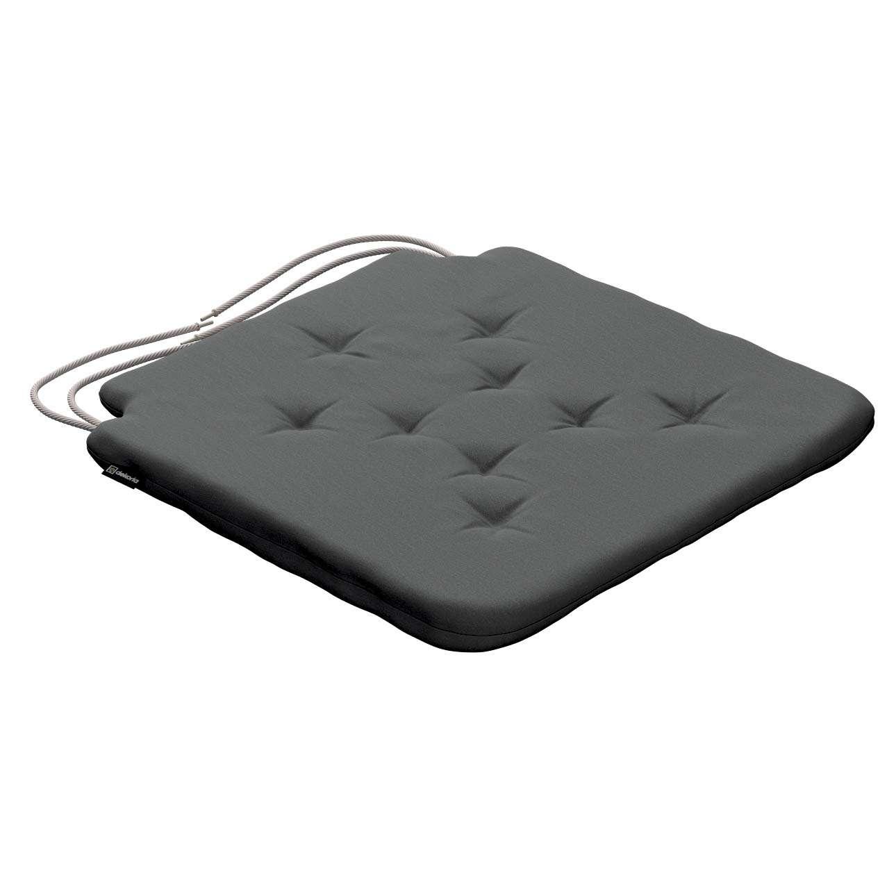 Siedzisko Olek na krzesło 42x41x3,5cm w kolekcji Quadro, tkanina: 136-14
