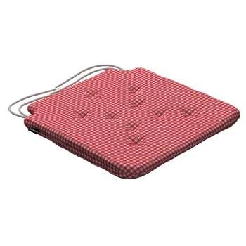 Siedzisko Olek na krzesło 42x41x3,5cm w kolekcji Quadro, tkanina: 136-15