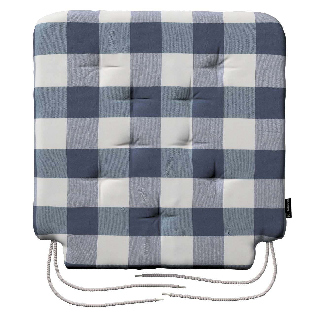 Siedzisko Olek na krzesło 42x41x3,5cm w kolekcji Quadro, tkanina: 136-03