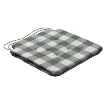 Siedzisko Olek na krzesło 42x41x3,5cm w kolekcji Quadro, tkanina: 136-13