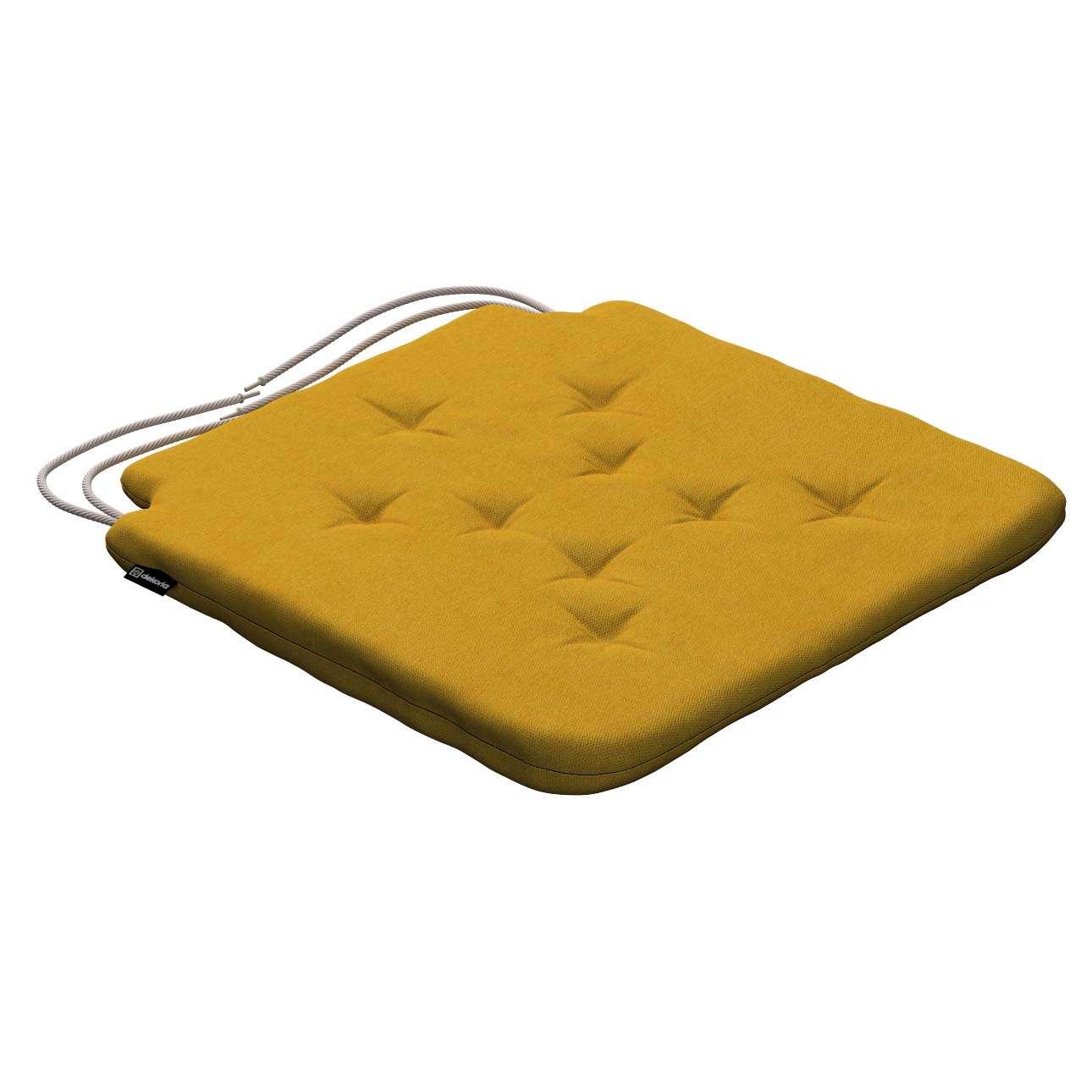 Siedzisko Olek na krzesło 42x41x3,5cm w kolekcji Etna , tkanina: 705-04