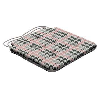 Siedzisko Olek na krzesło 42x41x3,5cm w kolekcji Brooklyn, tkanina: 137-75