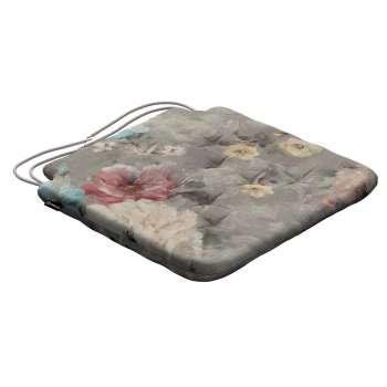 Siedzisko Olek na krzesło 42x41x3,5cm w kolekcji Monet, tkanina: 137-81