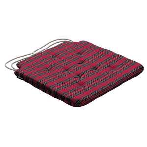 Siedzisko Olek na krzesło 42x41x3,5cm w kolekcji Bristol, tkanina: 126-29